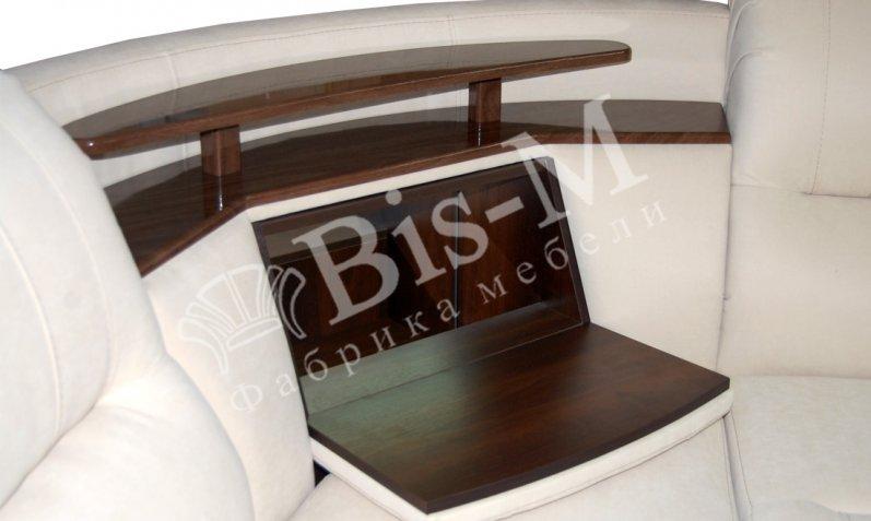 Угловой диван с баром в  Москве